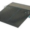 "Aluminum Hand Truck Dockplate 500# Uniform Capacity 36"" X 36"" Platform"
