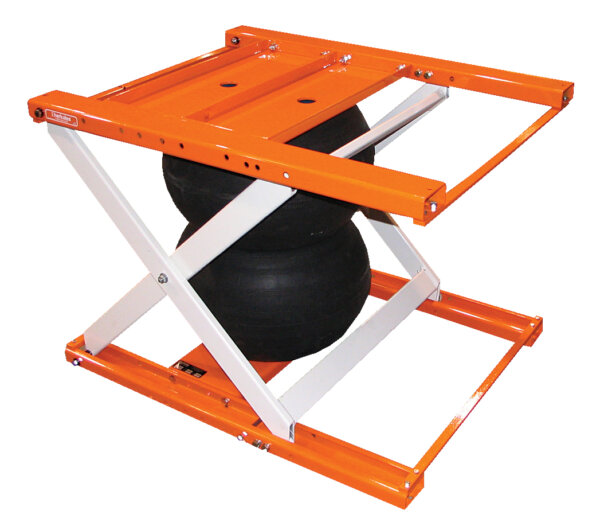 Ergo Air Bag Scissor Lift Table 1,000# Uniform Capacity