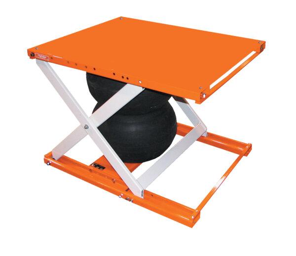"Air Bag Scissor Lift Table 48"" X 48"" Platform"