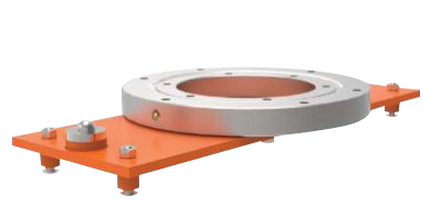 Air Bag Scissor Lift Table Optional Manual Rotation, Manual Brake
