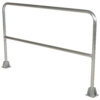 "Aluminum Safety Railing 72"" Long"