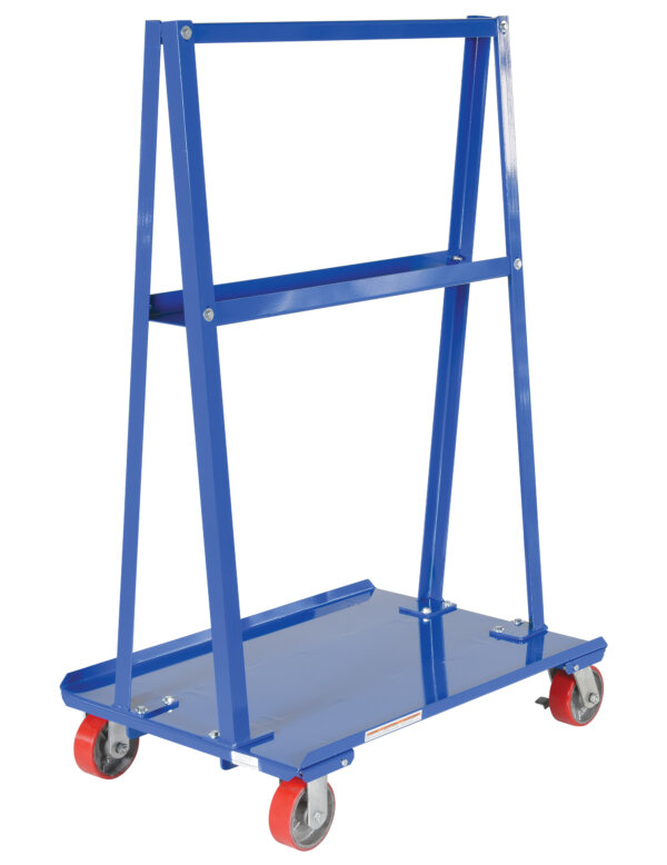 "A-Frame Cart 2,000# Uniform Static Capacity 24"" X 36"" Deck"