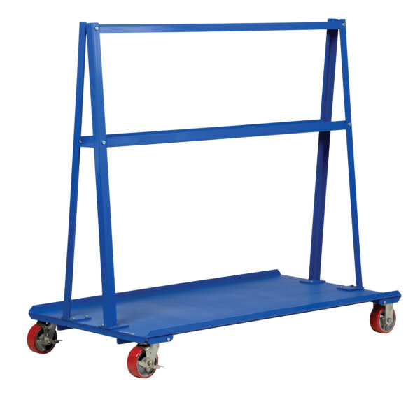 "A-Frame Cart 2,000# Uniform Static Capacity 30"" X 48"" Deck"