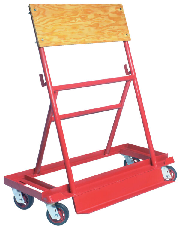 A-Frame Steel Truck 1,500# Uniform Static Capacity with Steel Casters
