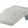 "Aluminum Hand Truck Dockplate 700# Uniform Capacity 30"" X 36"" Platform"