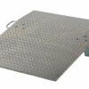 "Aluminum Hand Truck Dockplate 700# Uniform Capacity 36"" X 36"" Platform"