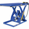 "Rotary Air/Hydraulic Scissor Lift Table 3,000# Uniform Capacity 30"" X 60"" Platform"