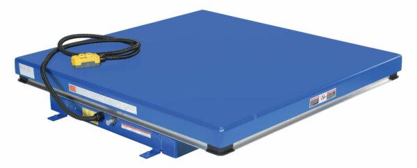 "Rotary Air/Hydraulic Scissor Lift Table 3,000# Uniform Capacity 48"" X 48"" Platform"