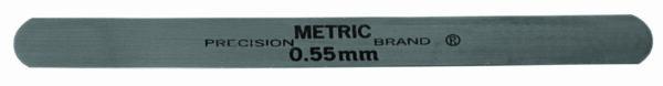 0.02mm Metric Steel Feeler Gage 12.7mm x 127mm