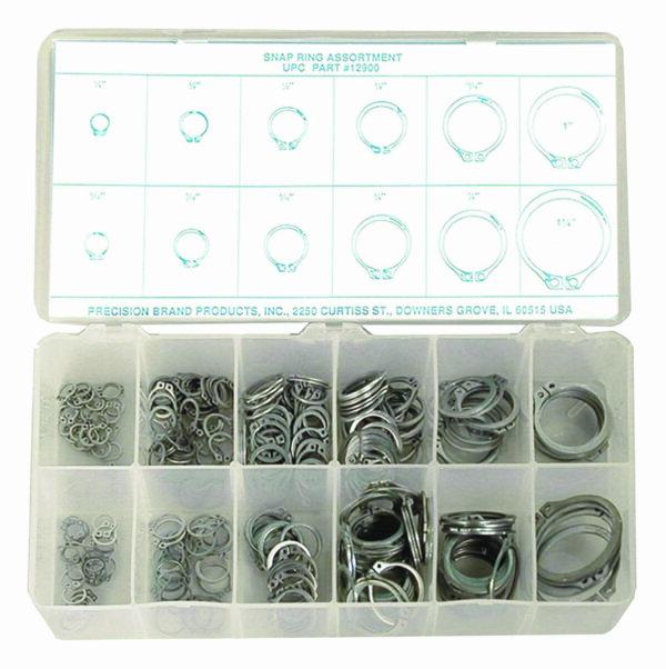 300 Piece Snap Ring Assortment