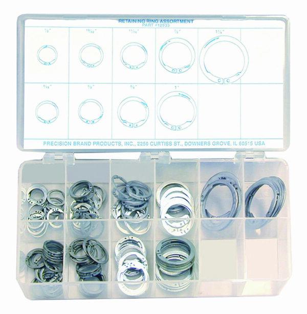 140 Piece Retaining Ring Assortment