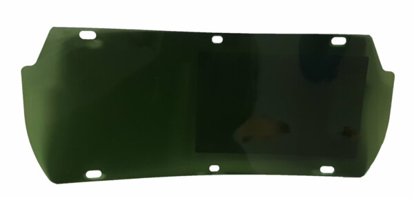 FaceTec™ Visor, Green Polycarbonate