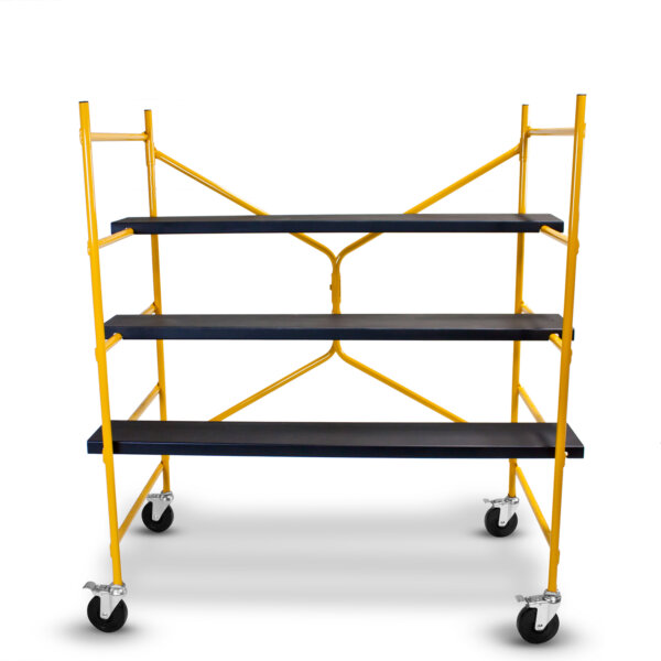 5' Extra Wide Step-Up Mobile Workstand
