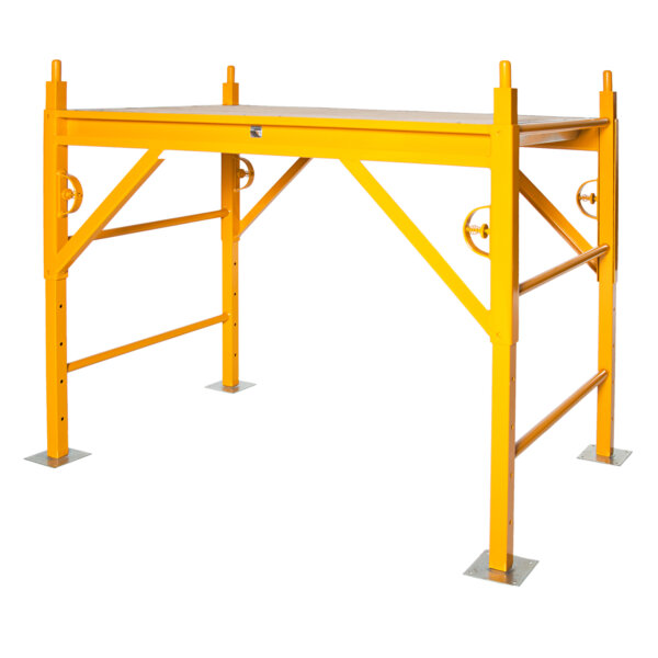 Elite 400 Series Mobile Interior Complete Scaffold With 5x5 Base Plates