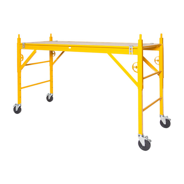 "Classic 400 Series Mobile Interior Complete Scaffold With 5"" Silver Line Casters"