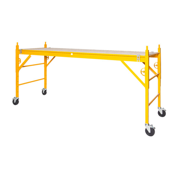 """Classic 400 Series Mobile Interior Complete Scaffold With 5"""" Silver Line Casters"""