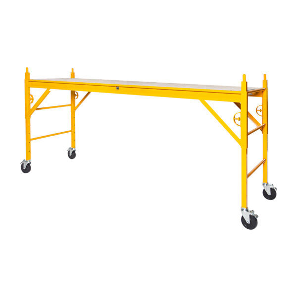 """Elite 400 Series Mobile Interior Complete Scaffold With 5"""" Silver Line Casters"""