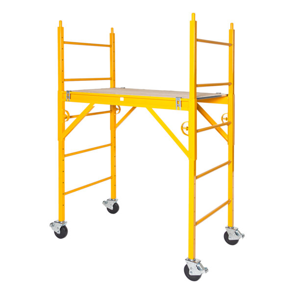 """Classic 600 Series Mobile Interior Complete Scaffold With 5"""" Casters"""
