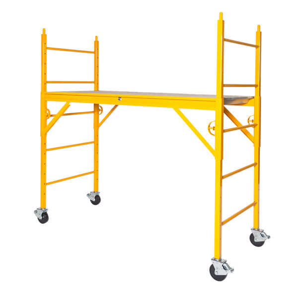 "Elite 600 Series Mobile Interior Complete Scaffold With 5"" Casters"