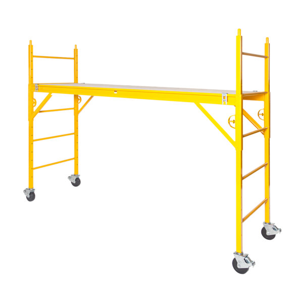"Classic 600 Series Mobile Interior Complete Scaffold With 5"" Casters"