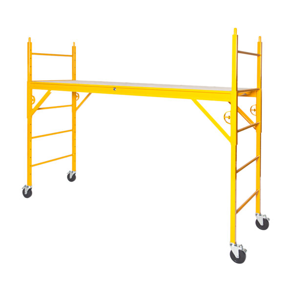 """Elite 600 Series Mobile Interior Complete Scaffold With 5"""" Silver Line Casters"""