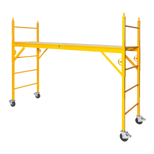 """Elite 600 Series Mobile Interior Complete Scaffold With 5"""" Casters"""