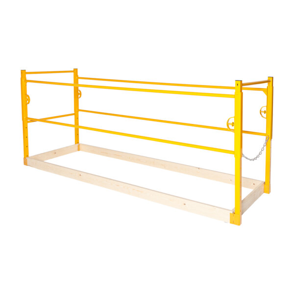Guardrail Complete Kit with Toeboards