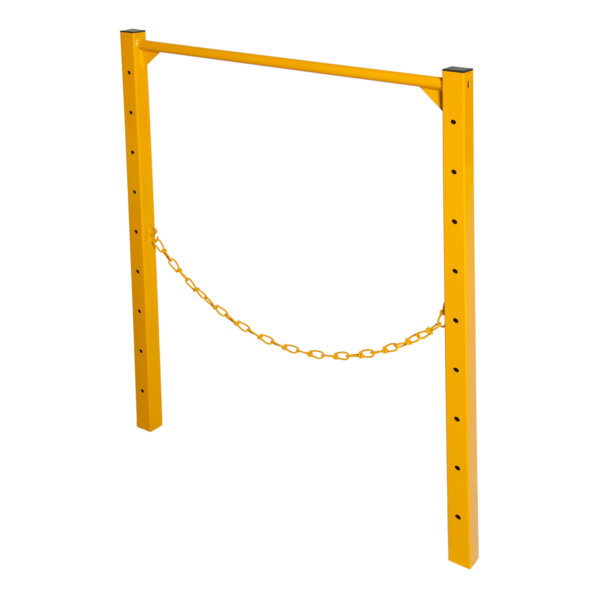 Guardrail End Frame With Midrail Chain for Classic and Elite Scaffolds