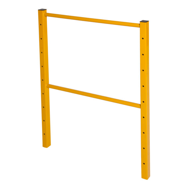 Guardrail End Frame With Solid Midrail for Classic and Elite Scaffolds