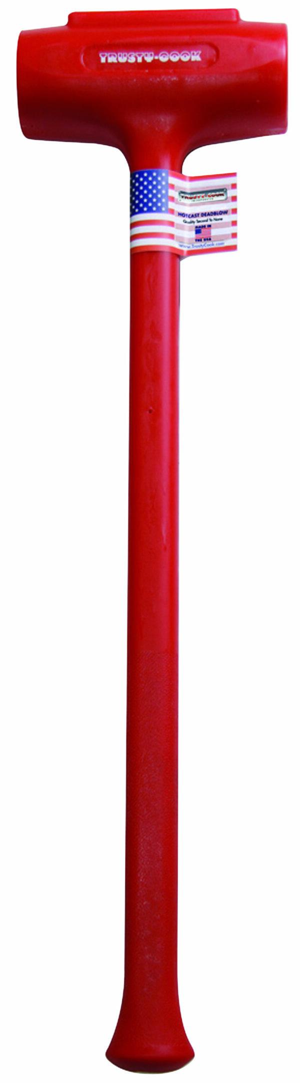 144 oz. Soft Face Polyurethane Dead Blow Sledge Hammer