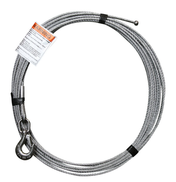 "1/4"" x 55' Stainless Steel Cable Assembly"