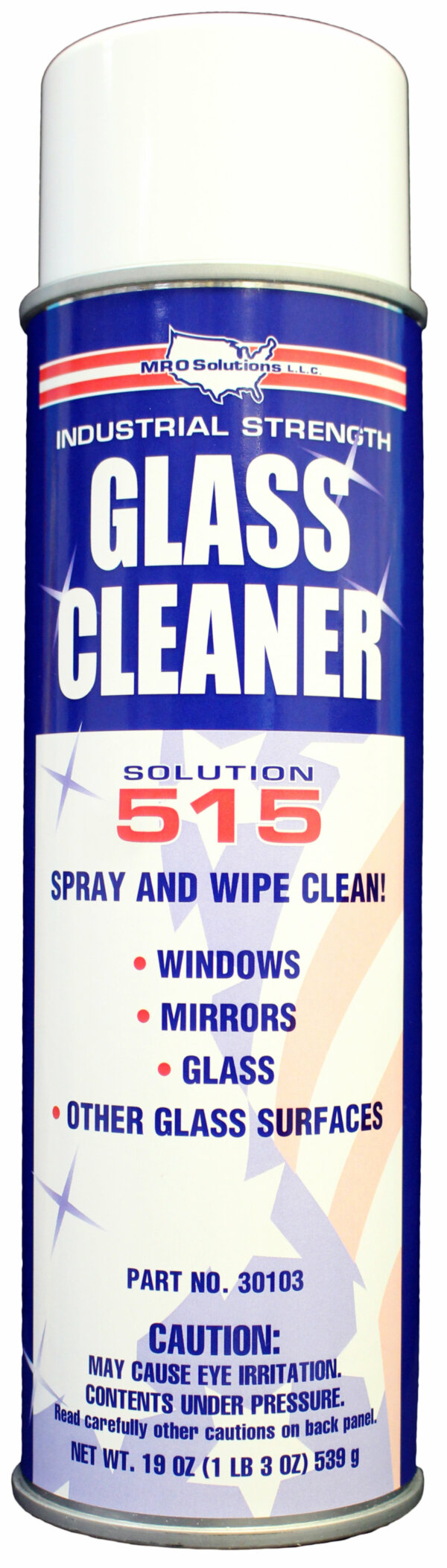 MRO Solution 515 – Glass and Multi-surface Cleaner (19 oz. Aerosol)