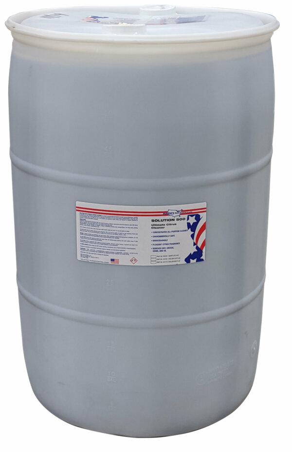 MRO Solution 500 – Ultimate Citrus Cleaner (55 gal. Drum)