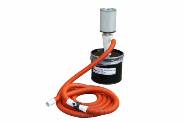 Small, Single-user, Portable Collection System with 20 gallon canister