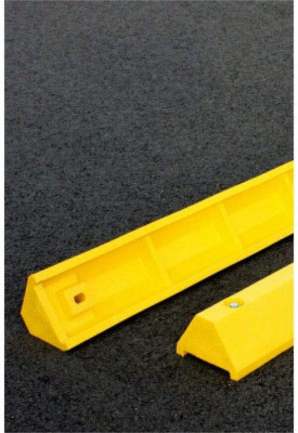 "Plastic Parking Block, Ultra, 3-1/4"" Wide x 4' Length - Concrete Applications"