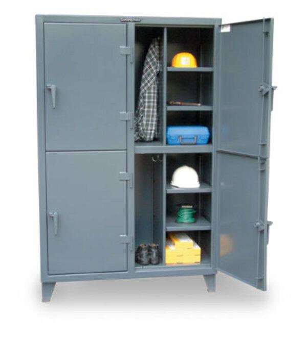 """Industrial Locker, 122""""W x 24""""D x 72""""H"""