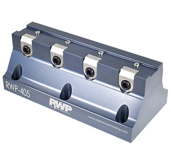 "0.75"" Dovetail Fixture with 8"" Rail, 4 Clamps, Aluminum"