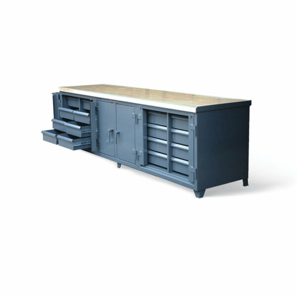"""Ultimate Workbench with Maple Top, 120""""W x 30""""D x 34""""H"""