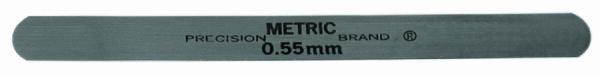0.03mm Metric Steel Feeler Gage 12.7mm x 127mm
