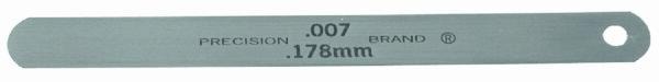 "0.0015"" Steel Feeler Gage 1/2"" x 5"" Blades"